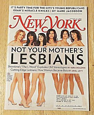 New Yorker Magazine January 12, 2004 Lesbians (Image1)