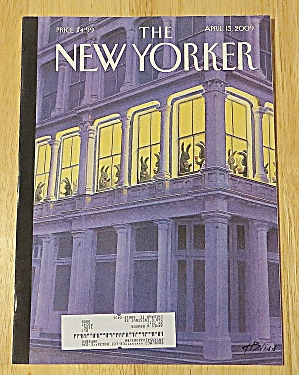 New Yorker Magazine April 13, 2009 Apartment Window (Image1)
