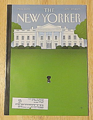 New Yorker Magazine April 27, 2009 White House (Image1)