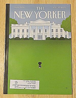New Yorker Magazine April 27, 2009 White House (Image1)