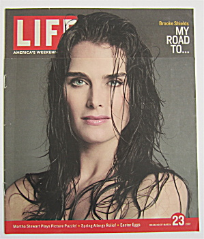Life Weekender Magazine March 23, 2007 Brooke Shields