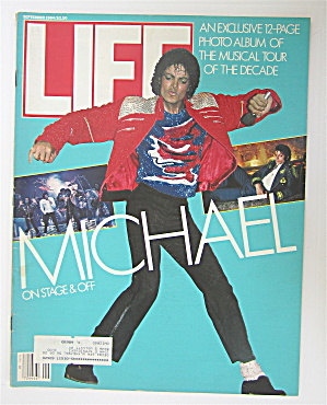 Life Magazine-september 1984-michael Jackson