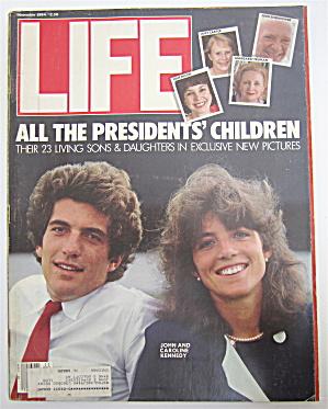 Life Magazine-November 1984-All President's Children (Image1)