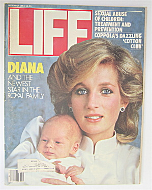 Life Magazine-December 1984-Diana & New Baby  (Image1)