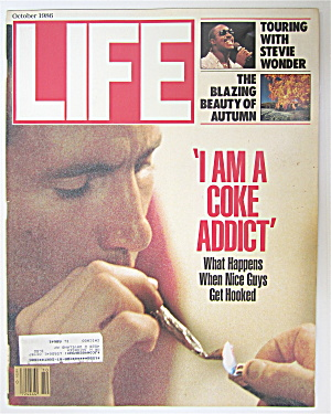 Life Magazine-october 1986-i Am A Coke Addict