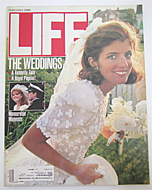 Life Magazine-september 1986-the Weddings