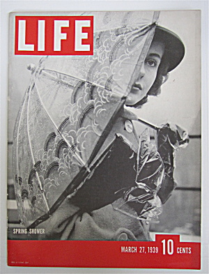 Life Magazine-march 27, 1939-spring Shower