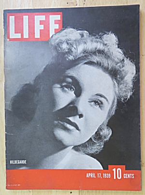 Life Magazine-April 17, 1939-Hildegarde (Image1)