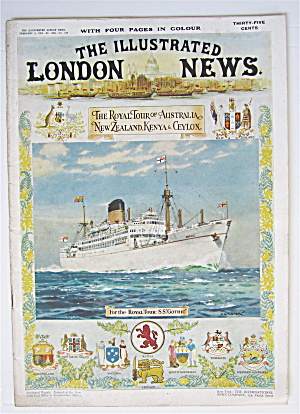 London News Magazine February 9, 1952 Royal Tour  (Image1)