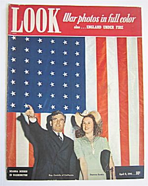 Look Magazine April 8, 1941 Deanna Durbin In Washington (Image1)