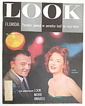 Look Magazine March 20, 1956 James Cagney/Susan Hayward (Image1)