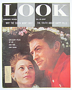 Look Magazine July 24, 1956 Gregory Peck At 40