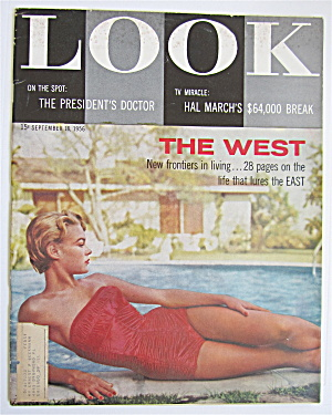 Look Magazine September 18, 1956 The West