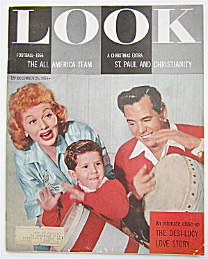 Look Magazine December 25, 1956 Desi-lucy Love Story
