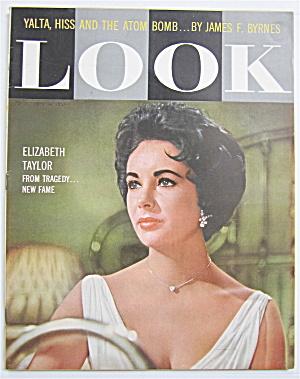 Look Magazine October 14, 1958 Elizabeth Taylor  (Image1)