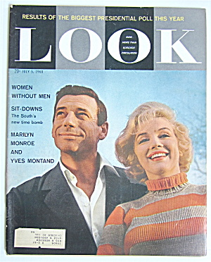 Look Magazine July 5, 1960 Marilyn Monroe/Yves Montand (Image1)