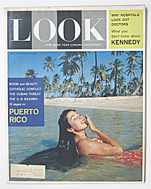 Look Magazine January 17, 1961 Puerto Rico  (Image1)