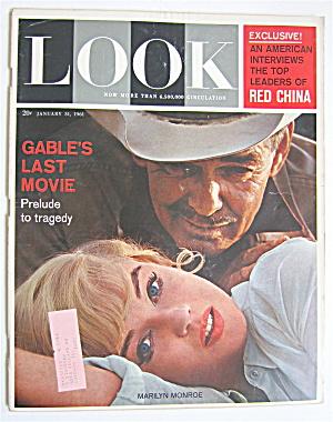 Look Magazine January 31, 1961 Gable's Last Movie  (Image1)