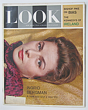 Look Magazine March 14, 1961 Ingrid Bergman