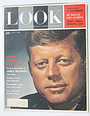 Look Magazine May 9, 1961 Inside Kennedy's Election