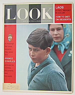 Look Magazine June 6, 1961 Prince Charles