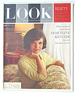 Look Magazine July 4, 1961 Jacqueline Kennedy