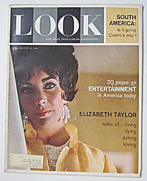 Look Magazine August 15, 1961 Elizabeth Taylor (Image1)