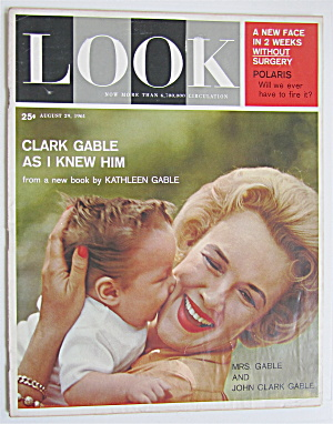 Look Magazine August 29, 1961 Clark Gable (Image1)