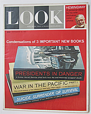 Look Magazine September 12, 1961 3 New Books  (Image1)