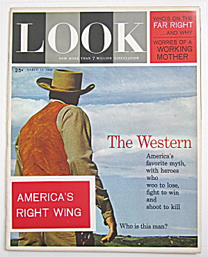 Look Magazine March 13, 1962 The Western