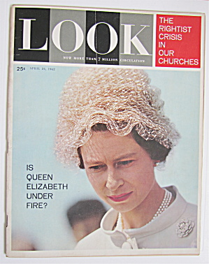 Look Magazine April 24, 1962 Queen Elizabeth  (Image1)