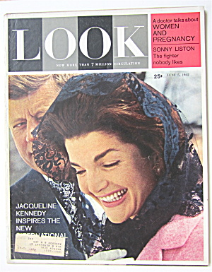 Look Magazine June 5, 1962 Jacqueline Kennedy