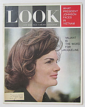Look Magazine January 28, 1964 Jacqueline Kennedy