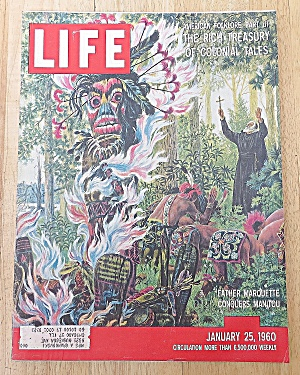 Life Magazine January 25, 1960 Father Marquette