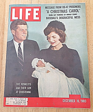 Life Magazine December 19, 1960 Kennedy Son