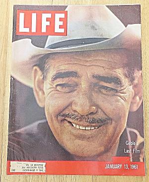 Life Magazine January 13, 1961 Gable's Last Film (Image1)