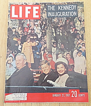 Life Magazine January 27, 1961 Kennedy Inauguration