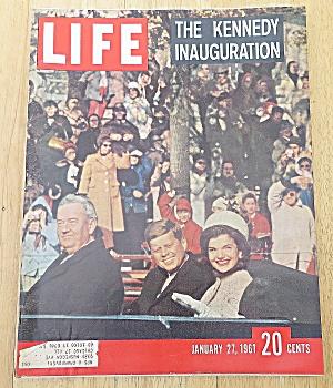 Life Magazine January 27, 1961 Kennedy Inauguration (Image1)