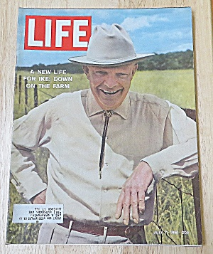 Life Magazine July 7, 1961 Ike On The Farm (Image1)