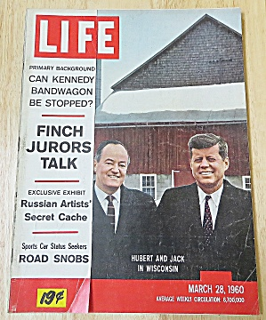 Life Magazine March 28, 1960 Hubert & Jack