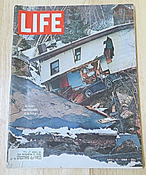 Life Magazine April 10, 1964 Earthquake