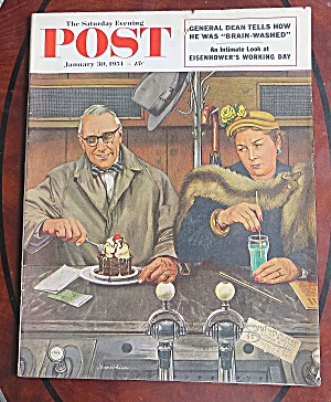 Saturday Evening Post Jan 30, 1954 Eisenhower