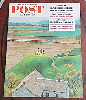 Saturday Evening Post May 4, 1957 The Waifs
