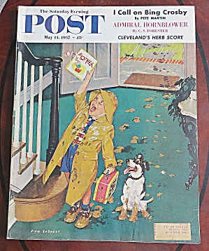 Saturday Evening Post May 11, 1957 Herb Score