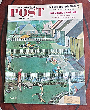 Saturday Evening Post May 18, 1957 Jock Whitney