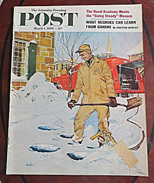Saturday Evening Post March 1, 1958 Naval Academy (Image1)