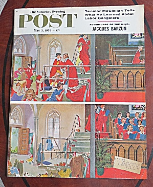 Saturday Evening Post May 3, 1958 J. Barzun