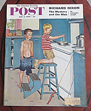 Saturday Evening Post July 12, 1958 Richard Nixon