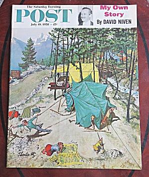 Saturday Evening Post July 19, 1958 David Niven (Image1)