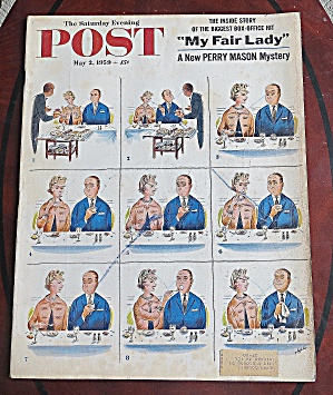 Saturday Evening Post May 2, 1959 My Fair Lady